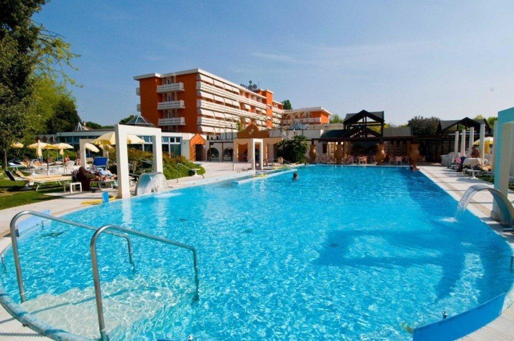 Piscine esterne di Hotel Terme Orvieto